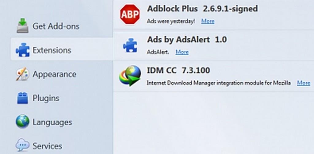 ads by adsalert removal