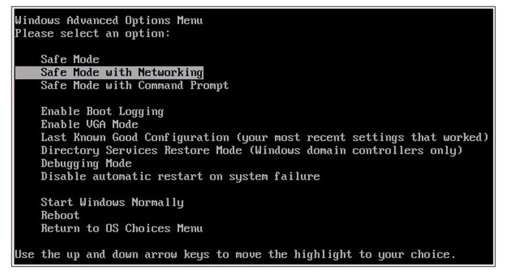 how to go into safe mode on windows 8