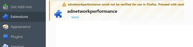 adnetworkperformance removal